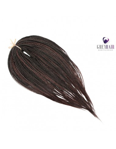 Double ended braids. Dark Chocolate...